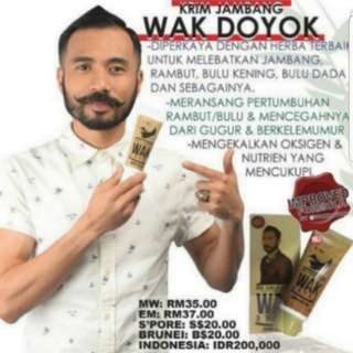 (INSTOCKS AVAIL) Authentic 100% Authentic Wak Doyok Hair & Beard Products