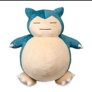 Snorlax Authentic From Pokemon Center