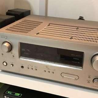Denon + Bose AV amplifier and speakers