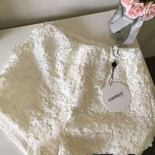 CAMEO Lace Shorts