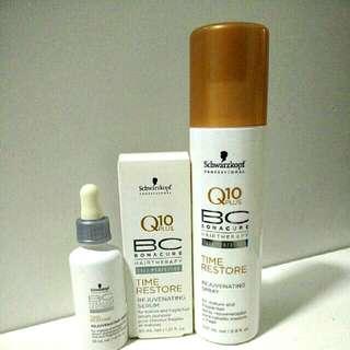 Schwarzkopf Rejuvenating Serum for scalp & Spray for Hair