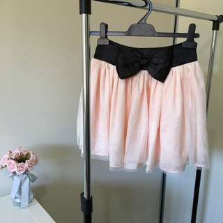 Bow Tulle Skirt