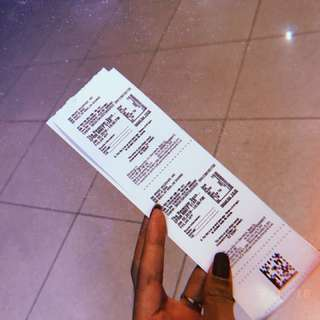 SM CINEMA TICKET