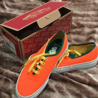 Vans (Brite) Neon Orange/Cyber