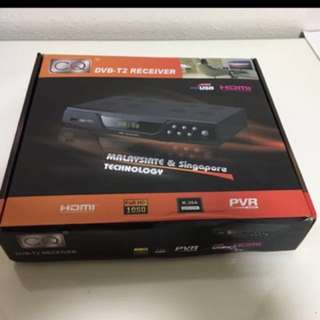DVB-T2 receiver, Digital TV BOX with free av cable