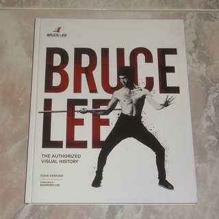 Bruce Lee Authorized Visual History Book Steve Kerridge Shannon Lee