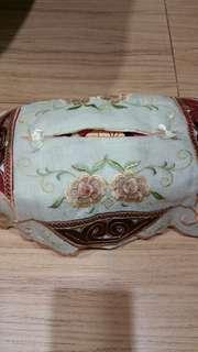 Cover kain untuk tempat tissue