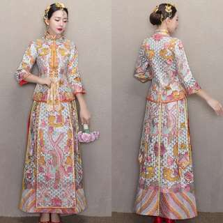 Chinese Traditional Wedding Costume/Kua