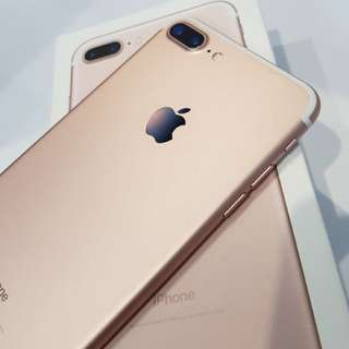 Swap/sale Openline iphone 7 plus rose gold 128 gb