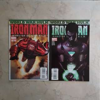 Iron Man Vol 4 (Marvel Comics 2 Issues, #19 & 20, story arc is World War Hulk tie-in)