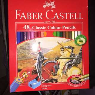 FABER-CASTELL 48 Classic Colour Pencils