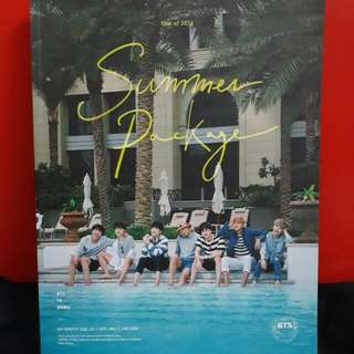 [REDUCED] BTS Summer Package 2016 Photobook