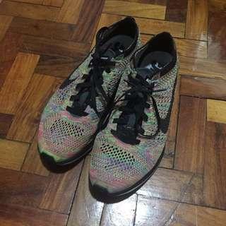 Nike Flyknit Racer Multicolor 7.5