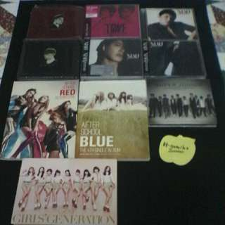 Various Group CD DVD Album Sales