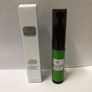 The body shop Drops Of Youth Youth Eye Concentrate 植物幹細胞眼部活肌精華