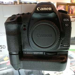 Canon 5D Mark II , sc only 4k , display set , like new ,