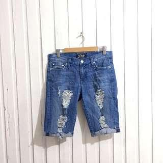 Lucky Brand US AUTHENTIC Ripped Denim Short FOR MEN