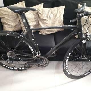 Road bike atomic matte black