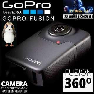 (GTX 1080) GoPro Fusion 360 Deg.. 5.2K...