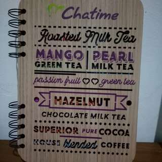 Agenda 2018-2019 By Chatime