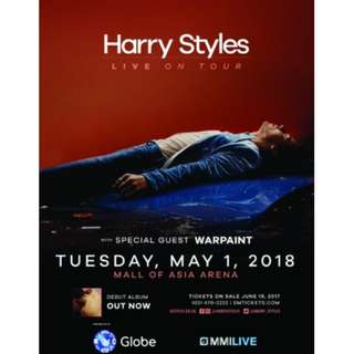 !!! LOOKING FOR !! GEN AD HARRY STYLES LIVE IN MANILA