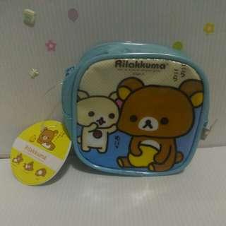 🚚 拉拉熊造型方型零錢包