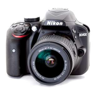 (PO) Nikon D3400 DSLR with 18-55mm Lens