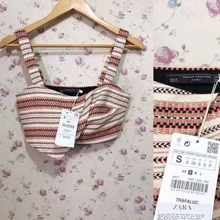 Zara Jacquard Top