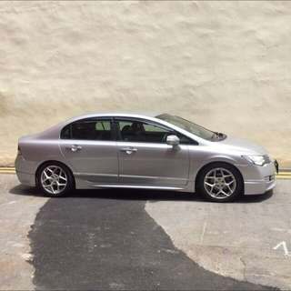 Honda Civic 1.8a (For rent)