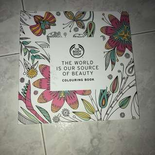 Body Shop Colouring Book