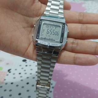 Jam Casio Original DB-360 Silver