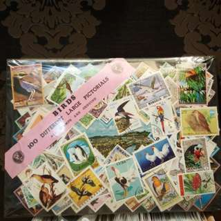100 different large pictorial. (Bird)