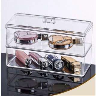 Acrylic Makeup Cosmetic Skincare Organiser Organizer Box