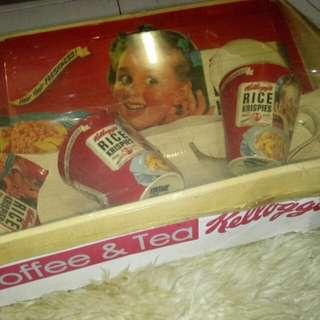 Kellogg's Coffee and Tea Set (Girl Red)