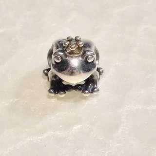 Pandora Charm - Fairytale Frog Prince
