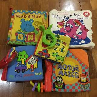 Play Go Motor Mates Cloth Book and others
