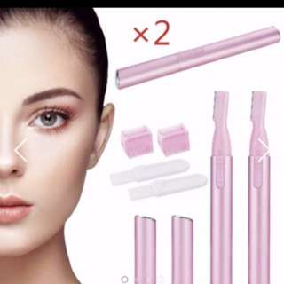 Electric shaver pink colour