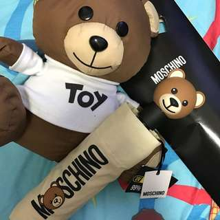 Moschino bear doll 熊仔公仔