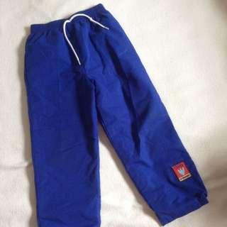 Blue jogger pants for kids