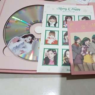 TWICE Merry & Happy Album Dahyun NO PHOTOCARD