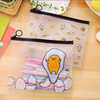 Gudetama Transparent Pencil Case ((preorder!!))