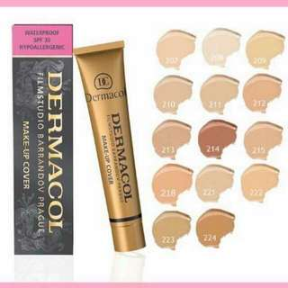Dermacol liquid foundation