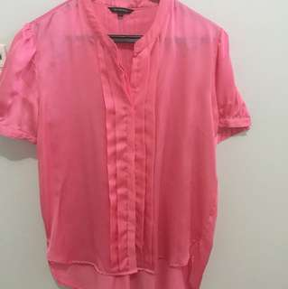 The Executive Blouse Pink size XL