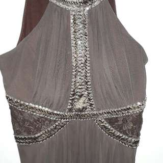 Pre-loved Dark Brown Floor-length Gown