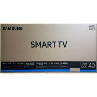 """BRAND NEW Samsung 40"""" Full HD Flat Smart Tv J5200 Series 5 UA40J5200DK"""