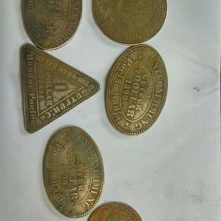 Old Coins 1880-1890
