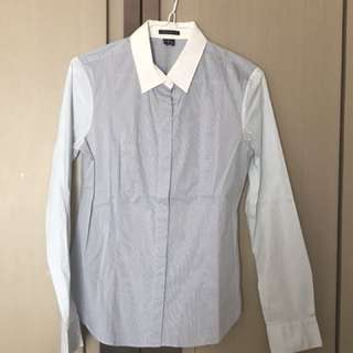 100% brandnew and authentic Theory cotton shirt Sz S