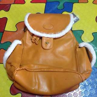 Girls College Bag,Brown For Sale