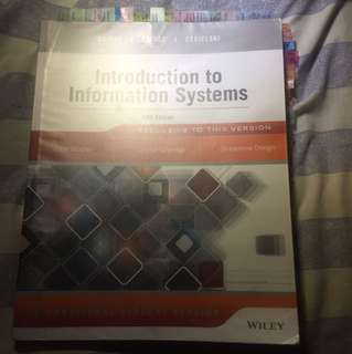 Introduction to Information Systems (ISB) Textbook for VU Students