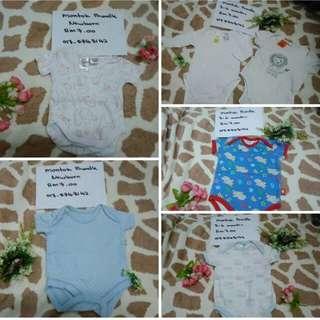 Baju baby shelai rm4.00 /beli lebih 10 helai dpt diskaun bminat WhatsApp 0175748142